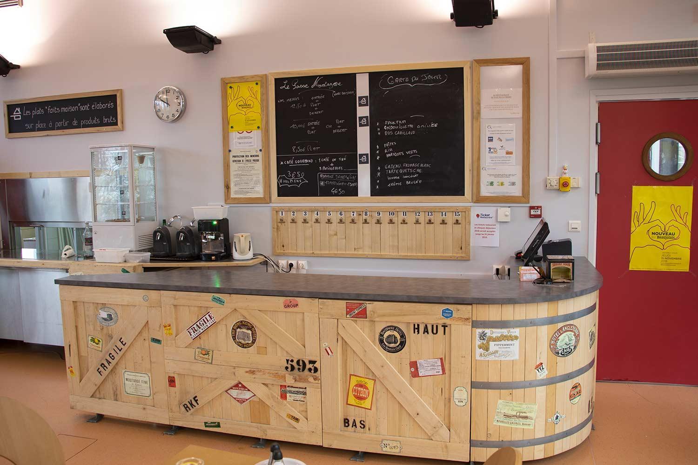 Le restaurant de l'ESAT la Montagne à Cormeilles-en-Parisis